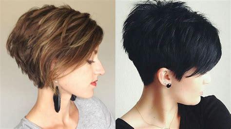 Damen Kurze Haare by Frisuren Stil Haar Damen Haarmodelle Lange Haare Kurze