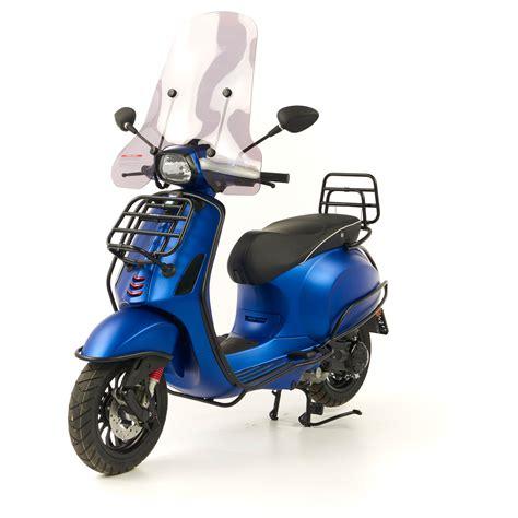 Motor Vespa Sprint vespa sprint 4t custom mat blauw option la