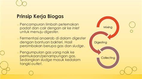 Minyak Padat proses biogas limbah peternakan sapi potong biogas process from wast