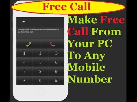 free calling from pc to mobile free call from pc to mobile driverlayer search engine