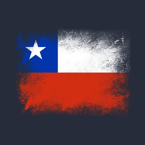 chile flag colors chile flag isolated chile t shirt teepublic