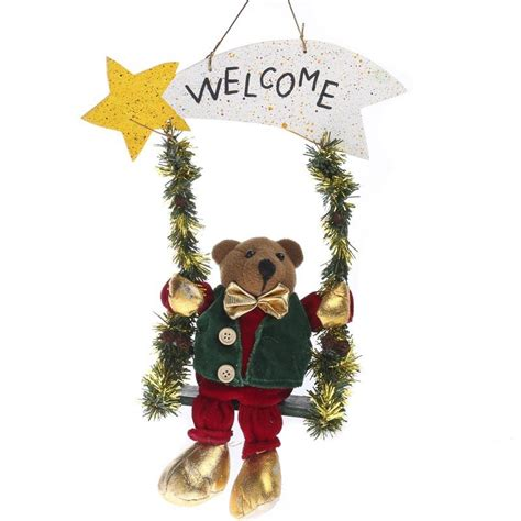 plush christmas wall hanger wall art christmas and
