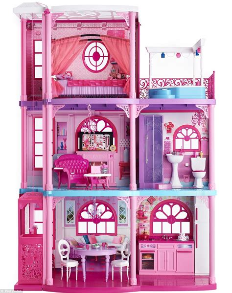 barbie dream house with elevator roksanda ilincic designs new barbie dreamhouse daily mail online