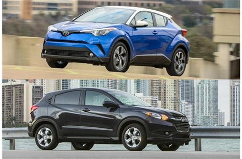 format video hrv 2018 toyota c hr vs 2018 honda hr v head to head u s