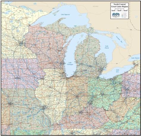 us map states great lakes maps usa map great lakes