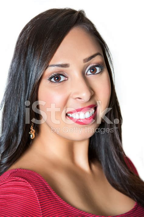 ethnic hair coloring latino hispanic hair description portrait of a beautiful hispanic