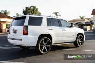 2015 chevy tahoe 24 quot versante wheels vt 228 black