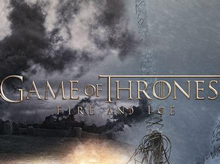 juego de tronos cuarta temporada online juego de tronos cuarta temporada fire and ice videos