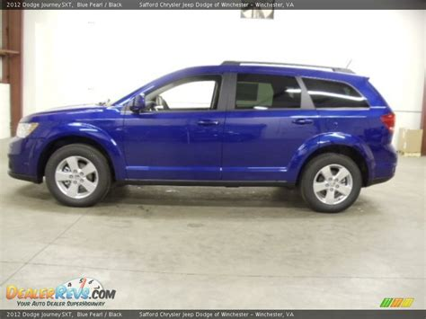 blue dodge journey 2012 dodge journey sxt blue pearl black photo 2