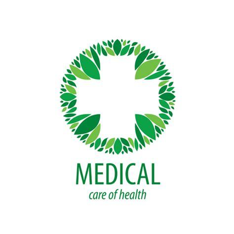 design a medical logo green medical health logos design vector 05 vector logo