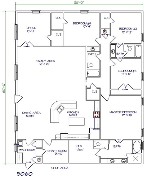50 sq ft bathroom all about barndominium floor plans benefit cost price and design