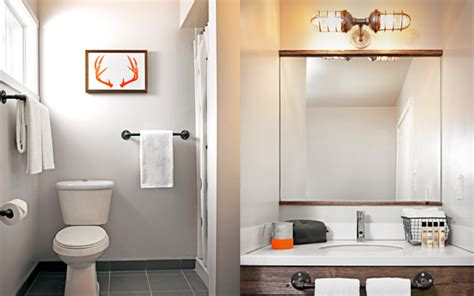 Basec Rustic Modern Boutique Hotel Euro Style Home Modern Industrial Bathroom
