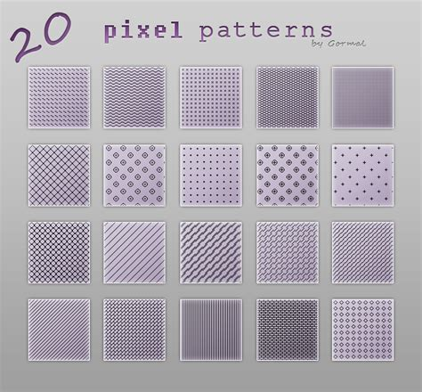 pattern photoshop size pixel patterns by gormal on deviantart