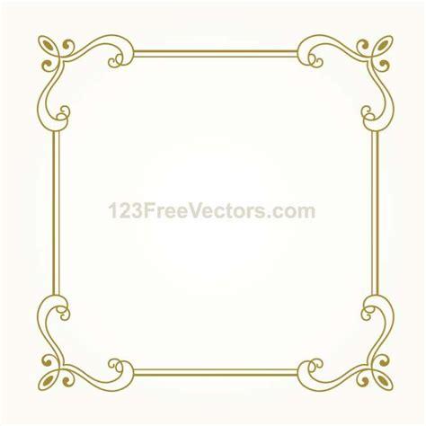 cornici vettoriali free cornice decorativa template vettoriale scarica a