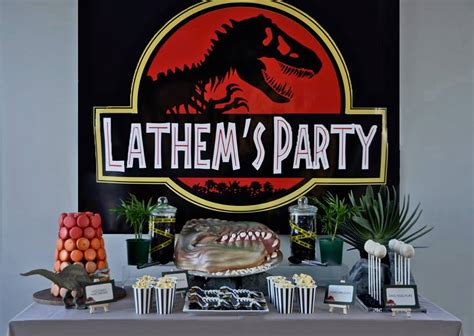 Jurassic Park Themed Birthday Party | little big company the blog a jurassic park themed