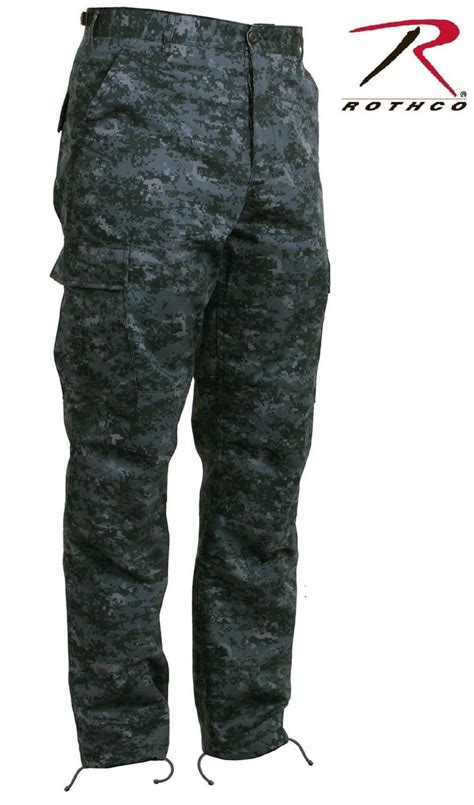 Celana Sreat Black midnight blue digital camouflage bdu cargo pant mens