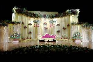 home decor for wedding fancy wedding stage decorations the home decor ideas