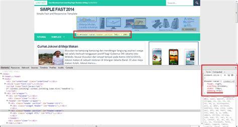 membuat header blog dengan photoshop membuat header website dengan php blog gaul cara membuat