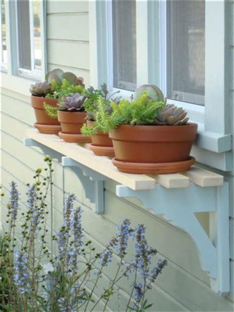 window box shelf box shelves window and fence posts on