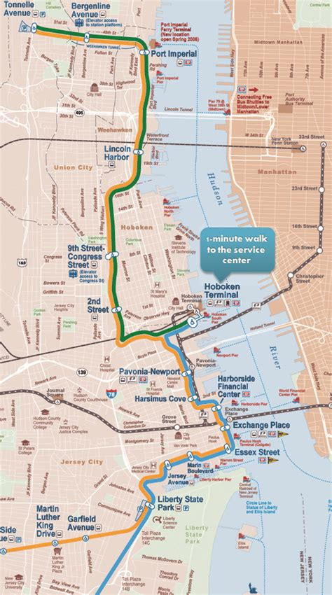 jersey city light rail schedule bergen hudson light rail iron blog