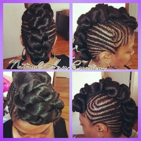 jumbo twist updo hairstlyes jumbo twists and cornrows natural hair updo braids my