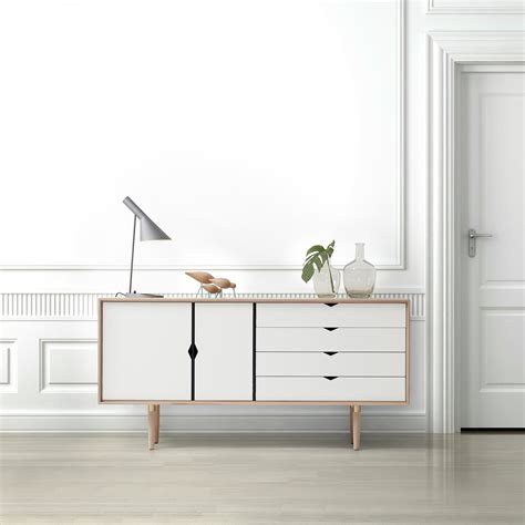 Sideboard Eiche by S6 Sideboard Unicoloured By Andersen Furniture