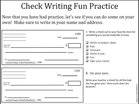 Most Thorough Background Check Check Writing Practice Worksheets Mmosguides