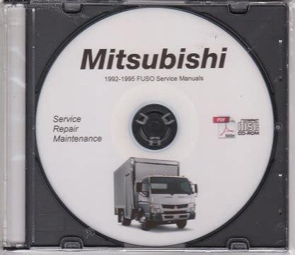 car manuals free online 1986 mitsubishi truck head up display 1992 1995 mitsubishi fuso fe fg fh fk fm truck service manual cd rom