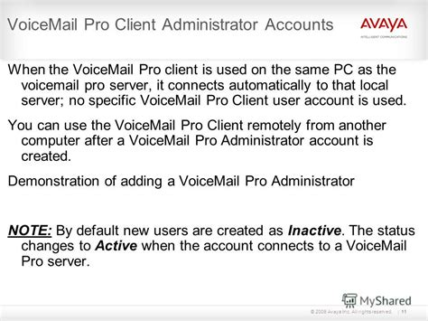 reset voicemail password avaya site administration презентация на тему quot 169 2009 avaya inc all rights