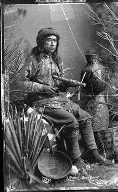 Portrait of Al Sieber, Chief of Scouts during the Apache