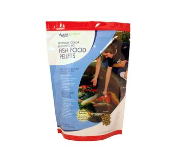 Aquascape Pond Products by Aquascape Color Enhancing Fish Food Pellets 2kg Fish