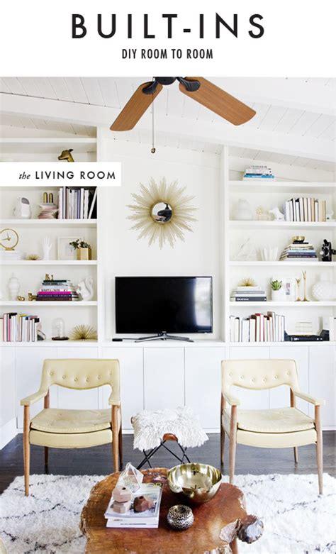 Diy Living Room Built Ins Diy Room To Room Built Ins The House That Lars Built
