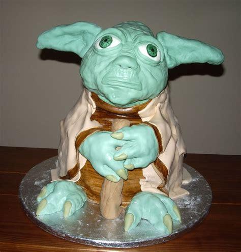 yoda cakes decoration ideas  birthday cakes