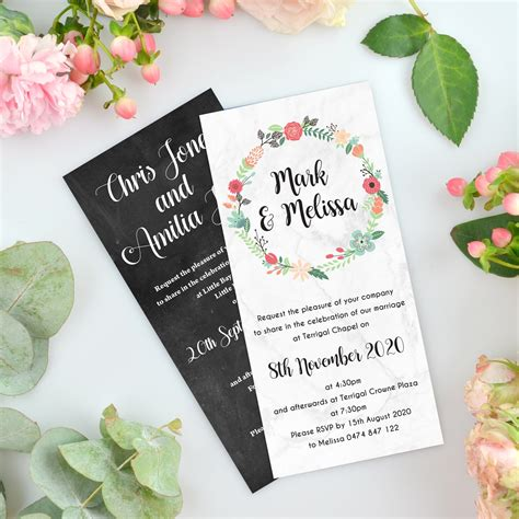 wedding invitation magnets photo wedding invitations - Wedding Invitations Magnet