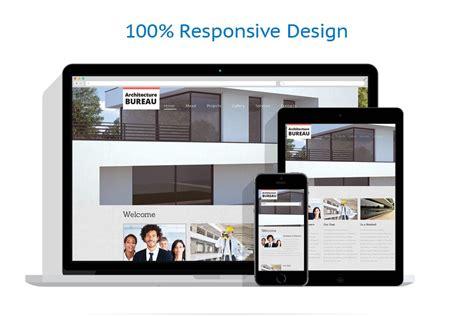responsive layout photoshop template siti web per un sito di societ 224 di costruzioni