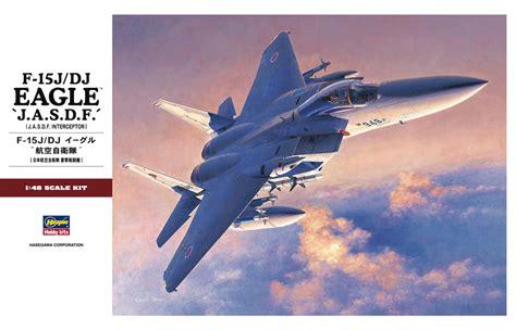 Hasegawa No 15 Japan Air Self Defence F 1 Mitsubishi 172 hasegawa 1 48 f 15j dj eagle jasdf