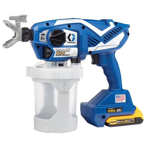 home depot cordless paint sprayer graco tc pro plus airless paint sprayer 17n223 the home