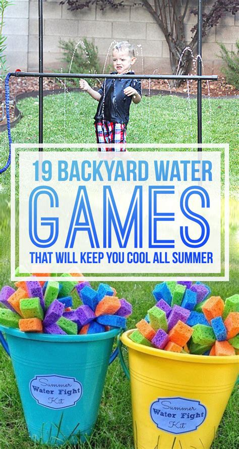 games to play in your backyard 19 backyard water games you have to play this summer