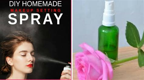 diy makeup setting spray wikihow diy makeup setting spray with only 2 ingredients