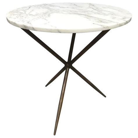 marble top cafe table bronze and marble top cafe table at 1stdibs