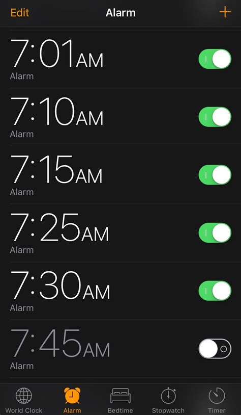 how to clear all your iphone alarms at one time aapl