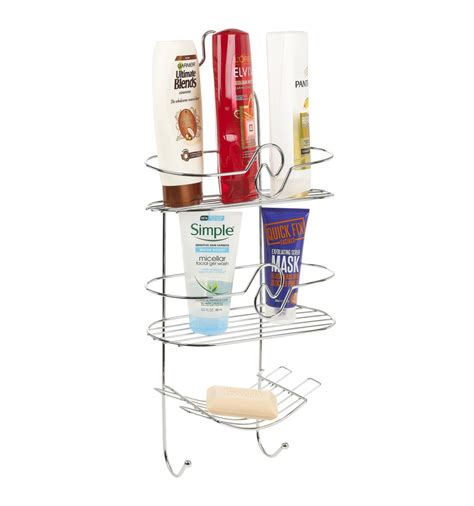 Shower Rack Hanging by Soap Hanging Rack Chrome Shower Caddy