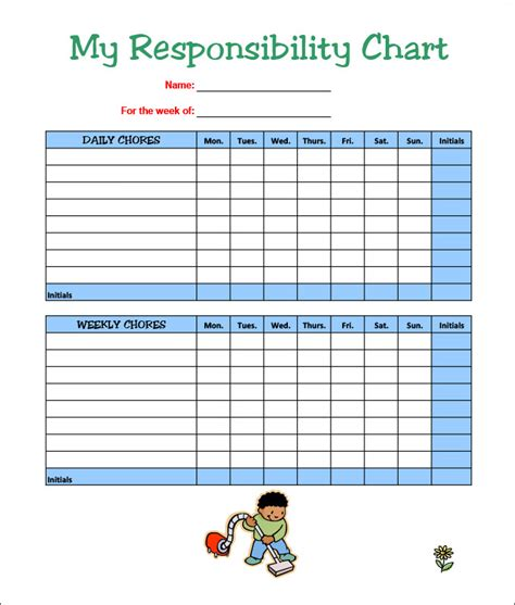 printable chore chart template pacq co
