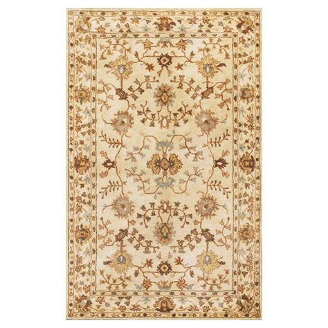 Kas Rugs Antiquity Tabriz Ivory Blue 5 Ft X 8 Ft Area 8 Ft Rugs