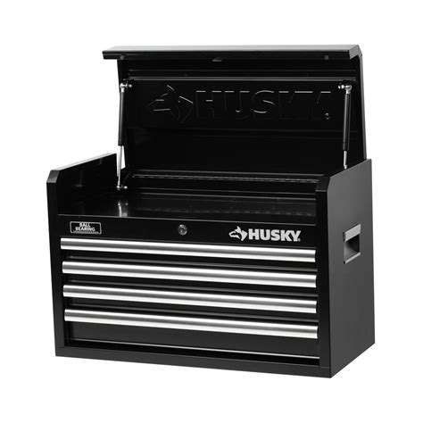 Rent To Own Husky 26 Inch 5 Drawer Tool Chest Textured Black by Husky 26 In W 4 Drawer Tool Chest Black H4ch1r The