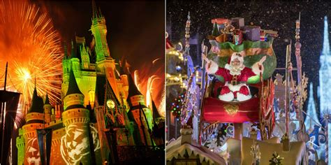 dates for christmas decorations at disney world holidays