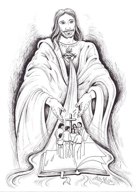 imagenes de jesucristo para dibujar a lapiz el rinc 243 n de las melli dibujo r 237 os de agua viva