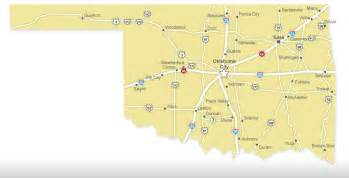 State Map Of Oklahoma by Oklahoma Map Travelok Com Oklahoma S Official Travel