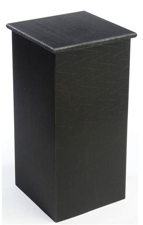 Cardboard Pedestal portable pedestal 30 high cardboard stand