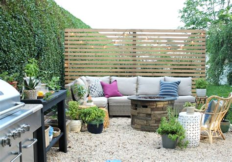 how to build a backyard patio new modern rustic outdoor privacy screen the rest of my
